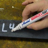 Markal Galvanizer's Removable Маркер по металлу для цинкования