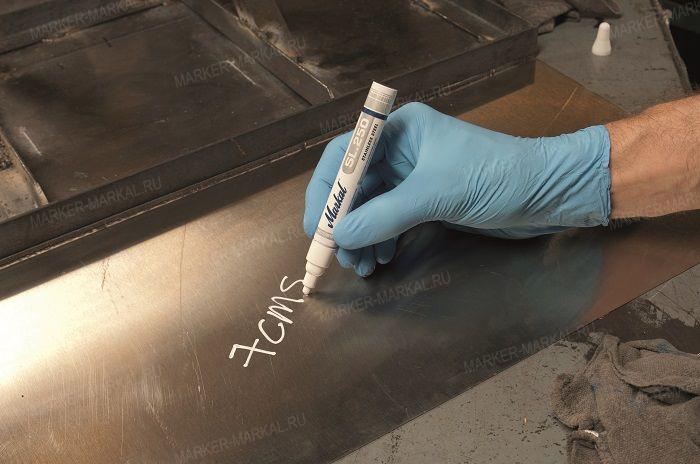 Промышленные маркеры по металлу